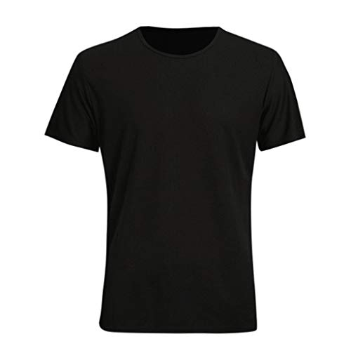 Qinhanjia Männer Wasserdicht Atmungsaktiv Anti Fouling T-Shirt Kurzarm Radfahren Hydrophob, Herren Sommer Wasserdicht Schnell Trocknendes T-Shirt Kurzarm Top