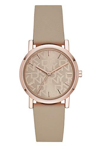 DKNY Soho- Reloj de Cuarzo para Mujer, Rosegold - NY2856