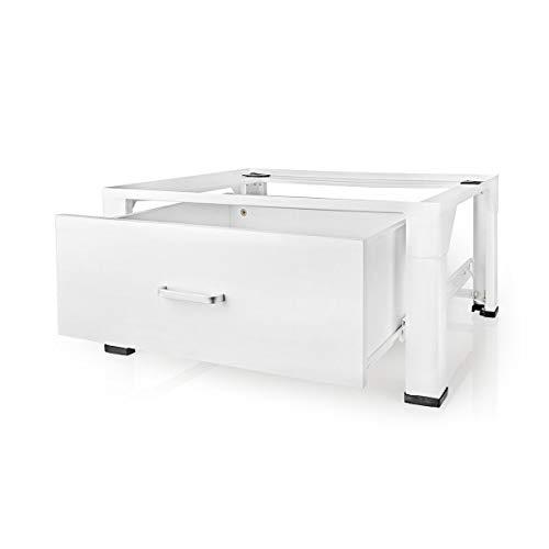 TronicXL Waschmaschine Trockner Stand mit Schublade kompatibel für Miele Whirlpool Bauknecht AEG Siemens Bosch Samsung