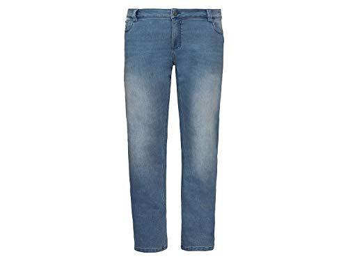 Livergy Sweat Denim Jeans Herren Hose 5 Pocket Style Straight Fit Hellblau ++Plus Size++ 64