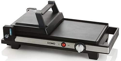 Domo DO9238G Teppanyaki, Schwarz, Edelstahl