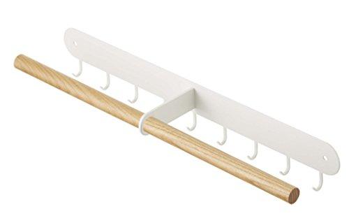 YAMAZAKI home 2513 Wall Accessory Rack One Size White