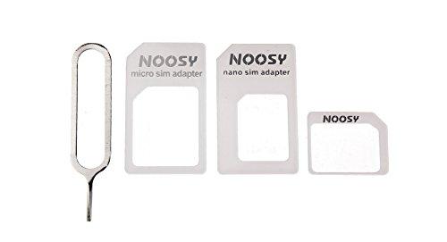 Mit Adaptadores para Tarjeta SIM, microSIM y nanoSIM, 4 en 1 (Incluye...