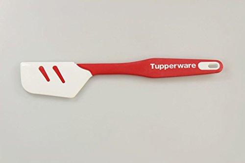 TUPPERWARE Griffbereit Top-Schaber Silikon rot weiß D167 TOP-Teigspachtel P 21440