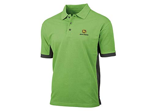 John Deere Herren Poloshirt 365 (Grün, S)