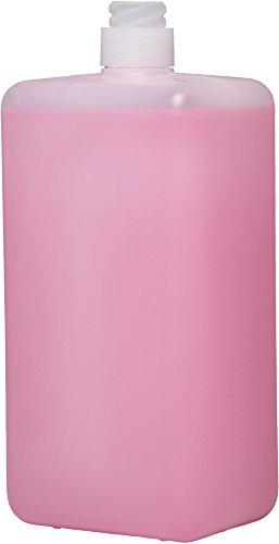Cremeseife flüssig, rosa parfümiert 12x950ml Spenderpatrone CWS - Qualität aus Thüringen (Artikelnummer 10209, rosa Seife mit dezentem Duft)