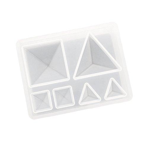perfeclan de Silicona DIY Colgante Encantos Pendientes Resina Joyería Que Hace El Molde