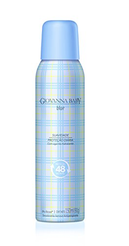Desodorante Aerossol 150Ml Blue, Giovanna Baby, Azul