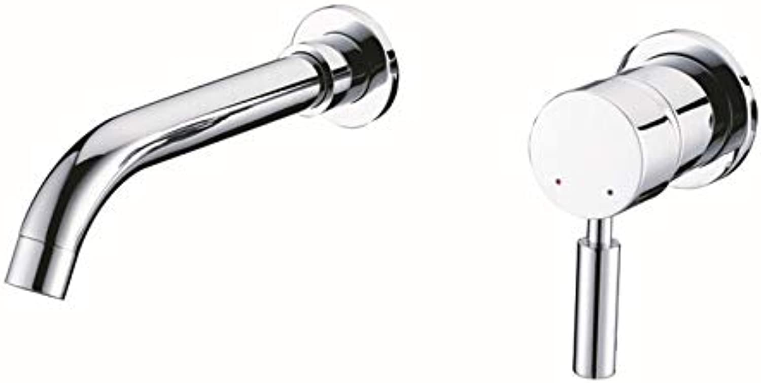 JONTON Faucet faucet faucet, concealed hot and cold water basin separation