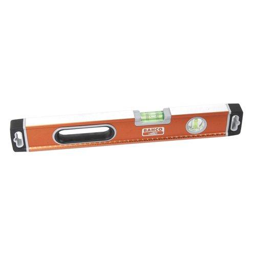 Bahco 466-400 BH466-400 waterpas 400mm met 3 libellen, oranje, 40cm