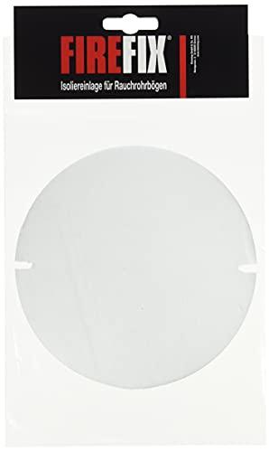FIREFIX ISO/2 Isoliereinlage für Putztüren von FIREFIX-Rauchrohrbögen universell für ø 120 mm bis ø 200 mm