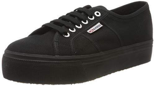 Superga 2790 Acotw Linea Up and Down, Sneaker Donna, Nero (996), 37 EU (4 UK)
