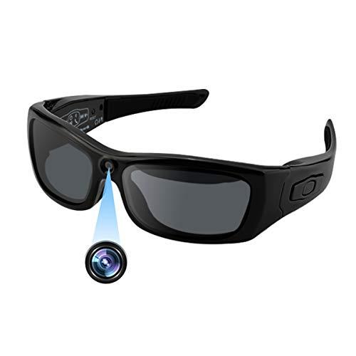 Camakt Bluetooth Sunglasses Camera, Full HD 1080P Digital Camera Video Recording Polarized Glasses for Sport.