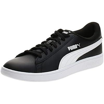 Puma - Smash V2 L, Zapatillas Unisex adulto, Negro (Puma Black-Puma White 04), 41 EU