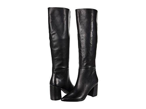 Steve Madden Nilly Boot Black Leather 7.5 M