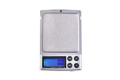 Quantum Abacus Báscula digital de precisión/balanza para correo/joyería, 500gr / 0,1gr, A06-500g.0.1
