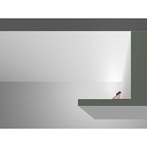 LED Trockenbau Profil AWP für Cove light/Lichtvouten 35° (Länge: 2m) ; Rigips