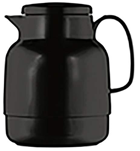 Helios Mondo Kunststoff-Isolierkanne, schwarz, 1,3 Liter