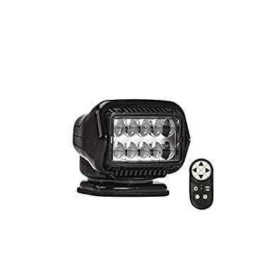 Golight Stryker ST Series Portable Magnetic Base Black LED with Wireless Handheld Remote, 30515ST