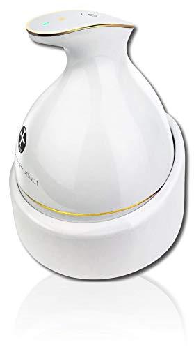 頭皮マッサージ頭皮マッサージ器KAS-1ヘッドスパヘッドマッサージ頭皮マッサージャーヘッドマッサージャー防水ブラシ電動ブラシ育毛頭皮ケア電動ホワイトWorldLIHomeProduct