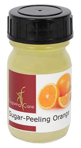 Sugaring Cane Zucker-Peeling Sugar Body Scrub ohne Konservierungsmittel - Duschpeeling (Orange, 30ml)
