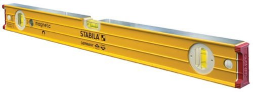 Stabila 38632-32-Inch builders level, Magnetic, High Strength Frame, Accuracy Certified Professional Level