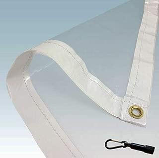PVC Clear Tarp (8X10)