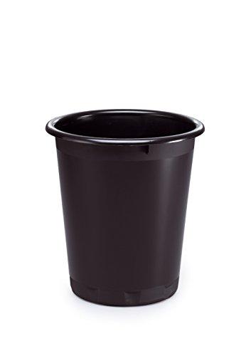 Durable 1701572221 - Papelera ø 290 (320 mm de alto), color negro