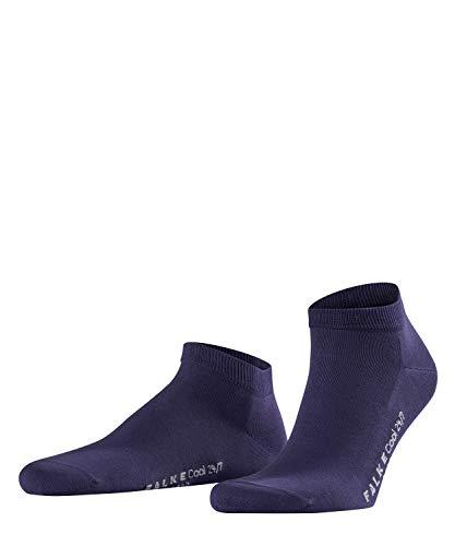 FALKE Herren Sneakersocken Cool 24/7, 80% Baumwolle, 1 Paar, Violett (Blueberry 6743), Größe: 43-44
