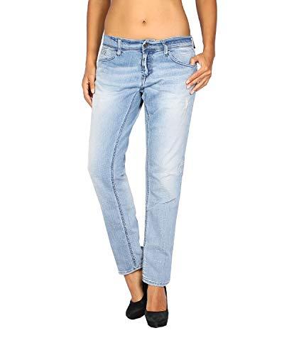 MELTIN'POT - Damen Jeans Maelle - Skinny Loose Fit - blau, W28