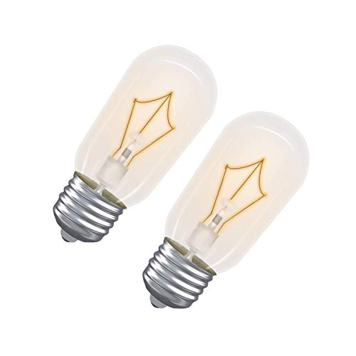 Light Bulb for GE Microwave Oven - Microwave Light Bulb Lamp for GE Maytag Frigidaire Kenmore Over The Range Hood Microwave, Stove Light Bulb for GE Microwave, Repalces WB36X10003, 2 Pack