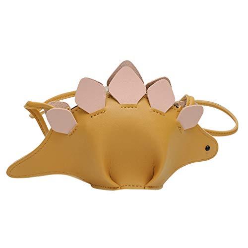 Find Bargain Leaf2you Kid's 3D Dinosaur Animal Cute Shoulder Bag Crossbody Bag Clutch Coin Bag Small...