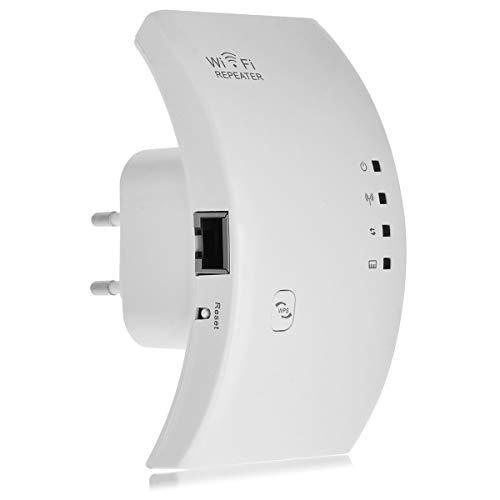 EBS Repetidor de Wi-Fi de Amplificador de Señal de Red Inalámbrica-Blanco