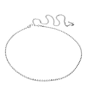 Vama Fashions Silver Plated Waist Belt Jewellery Traditional Belly Chain for Women Stylish.