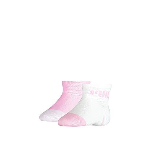 PUMA Unisex-Baby Mini Cats Lifestyle (2 Pack) Socks, pink Lady, 23/26 (2er Pack)