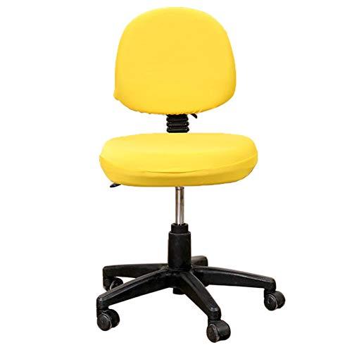 Funda de silla amarilla elástica universal