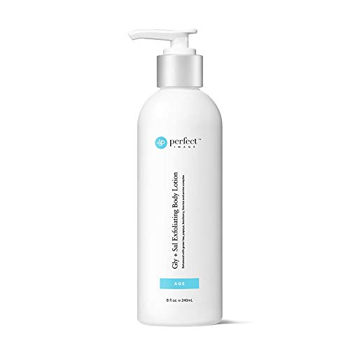 Gly + Sal Exfoliating Body Lotion, 8% Glycolic Acid and 2% Salicylic Acid Lotion Enhanced with Green Tea, Papaya, Bearberry, Licorice and Amino Complex - Perfect Image