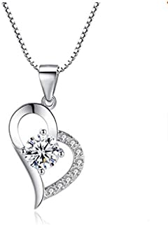 Womens necklace Sterling 925 Silver For girls Valentine's Day Gifts Birthday Gifts With Gift Box