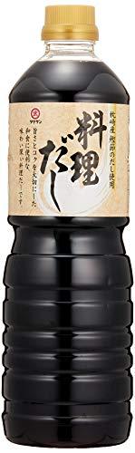 [タケサン] だし醤油 料理だし 1L×2本 煮物/かけつゆ/鍋物 などに ×2本
