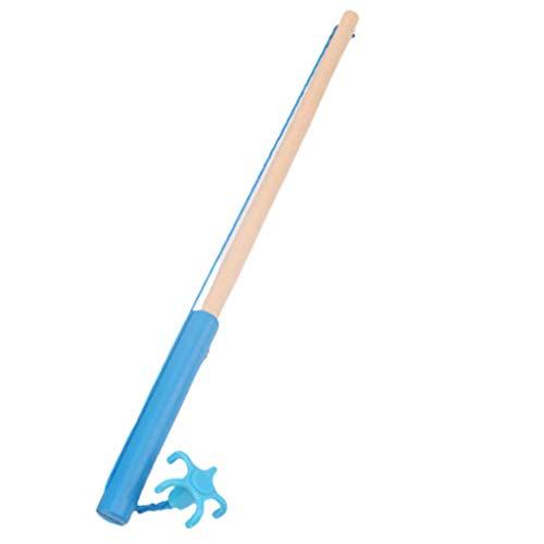 SUCHUANGUANG Hochwertiges magnetisches Holz-Angelruten-Spielzeug für Kinder Angelspielzubehör BL-30 Holz-Sprungball