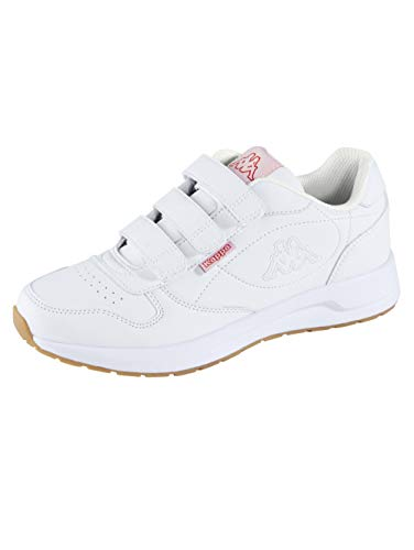Kappa Herren Base VL Sneaker, 1010 White, 41 EU