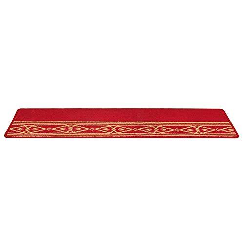 DAQUANTOU Pisada de Escalera - Alfombras-Alfombras -Rectangular (150X30Cm) Alfombras S | Lavable | Auto-Succión | Antideslizante | Stair Step Carpet/Pad-Modern Moda 5 Colores,E,Conjunto de 20 Pieza