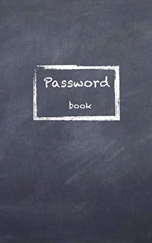 Password Book: Internet Password Organizer: (5x8inch) Small Password Journal and Self-written alphabetical tab box | Password Logbook | Logbook : T ZEN Design