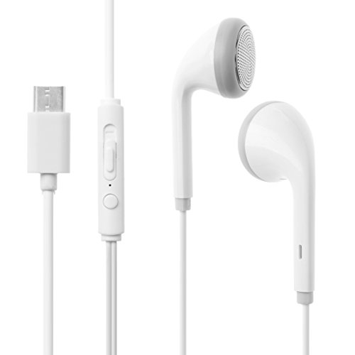 Baiyao Tipo C Auricolari Interfaccia Micro USB In-Ear Fusion Auricolari per audio di alta qualità (grigio)