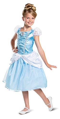 Disney Princess Cinderella Classic Girls' Costume, Blue