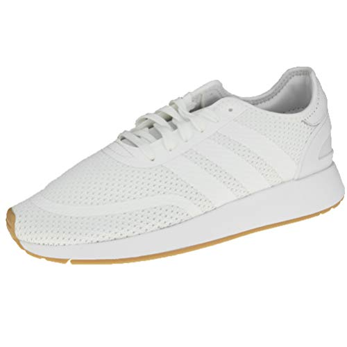 adidas N-5923, Zapatillas de Gimnasia Hombre, Blanco (FTWR White/FTWR White/Gum4 FTWR White/FTWR White/Gum4), 44 2/3 EU
