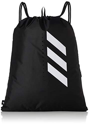 adidas Ctr365 Gymsack Bolsa De Deporte, Unisex Adulto, Negro/Negro/Blanco, Talla Única
