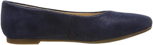 Clarks Chia Violet, Ballerine Donna, Blu (Navy Interest Navy Interest), 38 EU