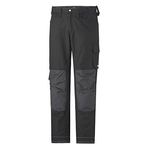 Helly Hansen Workwear werkbroek Visby Canvas Pant lichte werkbroek, maat 56, zwart, 76408