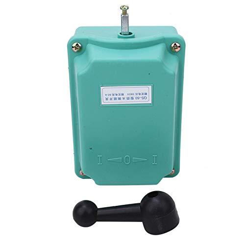 Interruptor de avance hacia atrás, interruptor de avance y retroceso con mango de carcasa de plástico Equipo eléctrico QS-60(QS-60)